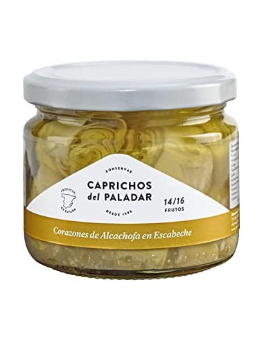 Corazones de alcachofa en escabeche...