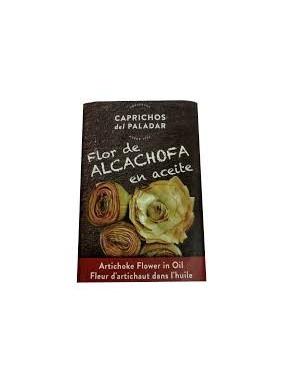Flor de alcachofa en aceite...